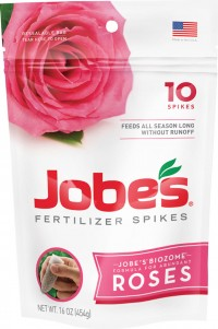 Jobes Company jobe's fertilizer spikes for roses - 10 pack, 12 ea