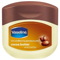 Vaseline rich conditioning petroleum jelly, cocoa butter moisturiser- 7.5 oz