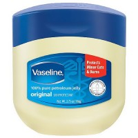 Vaseline petroleum jelly jar to heal dryness - 3.75 oz