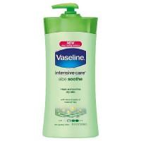 Vaseline Total Moisture Light Feeling body lotion, Aloe and Fresh - 20.3 oz