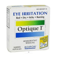 Boiron Optique 1 eye irritation homeopathic eye drop - 10 doses