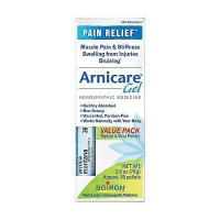Boiron Arnica Pain Relieving Gel, Homeopathic Medicine, Value Pack - 2.6 oz