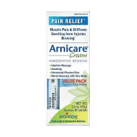 Boiron arnicare arnica cream everyday pain relief, Value pack, 2.5 oz