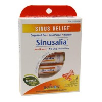 Sinus relief sinusalia boiron homeopathic medicines pellets per tube - 2 doses