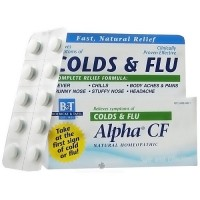 Boericke and Tafel Alpha CF colds and flu tablets - 40 ea