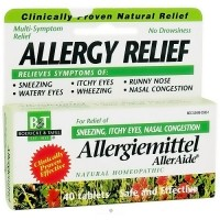 Boericke and Tafel Allergiemittel AllerAide tablets - 40 ea