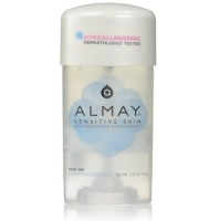 Almay anti-perspirant and deodorant fragrance free clear gel  - 2.25 oz