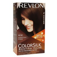 Colorsilk By Revlon, Ammonia-Free Permanent, Haircolor: Medium Warm Brown #4WB - 1 Ea