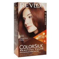 Colorsilk By Revlon, Ammonia-Free Permanent, Haircolor: Light Red Brown #55 - 1 Ea