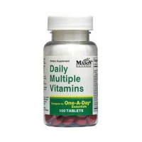 Mason Natural Daily Multiple Vitamins Tablets - 100 Ea