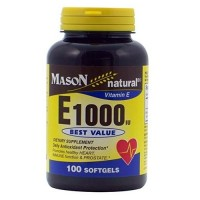 Mason natural vitamin E1000 Iu best value softgels - 100 ea