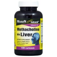 Mason Natural Methacholine Vitamin B Capsules - 100 Ea