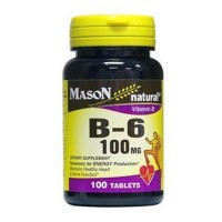 Mason Naturals Vitamin B-6 100 Mg Tablets - 100 Ea