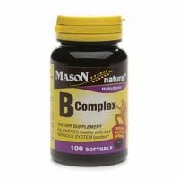 Mason naturals B complex softgels - 100 ea