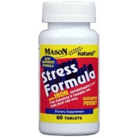Mason Natural Stress Formula Tablets, Compare To Stresstabs - 60 Ea
