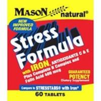 Mason Natural Stress Formula Tablets With Iron - 60 Ea