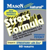 Mason Natural Stress Formula Tablets, With Zinc - 60 Ea