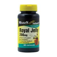 Mason Natural Royal Jelly 200 Mg Food Supplement Capsules - 60 Ea