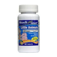 Mason Natural Little Animals Chewable Vitamin Tablets - 60 Ea