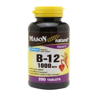 Mason natural sublingual vitamin B-12 1000 mcg tablets - 200 ea