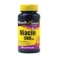 Mason Natural Niacin 500 Mg Extended Release Capsules - 60 Ea