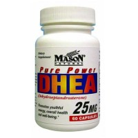 Mason Pure Power DHEA 25 Mg Capsules - 60 Ea