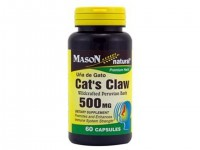 Mason Natural Cats Claw 500 Mg Premium Herbal Capsules - 60 Ea