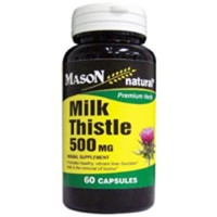 Mason Natural Milk Thistle 500 Mg Capsules - 60 Ea