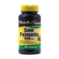 Mason Natural Saw Palmetto 500 Mg Capsules - 60 Ea