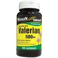 Mason Natural Valerian 500 Mg Premium Herbal Capsules - 60 Ea