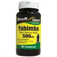 Mason Natural Yohimble 500 Mg Premium Herbal Capsules - 60 Ea