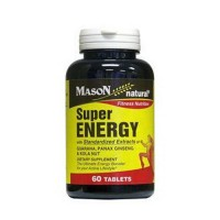 Mason Natural Super Energy Fitness Nutrition Tablets - 60 Ea