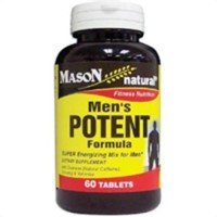Mason Natural Mens Potent Formula Tablets - 60 Ea