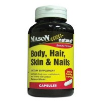 Mason natural body,skin and nails beauty formula capsules - 60 ea