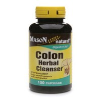 Mason Natural Colon Herbal Cleanser Capsules - 100 Ea