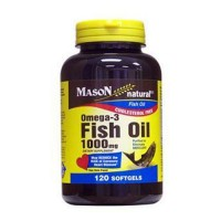 Mason Natural Omega-3 Fish Oil 1000 mg Softgels - 120 Ea