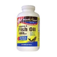 Mason Natural Omega-3 Fish Oil 1000 Mg Softgels - 400 Ea