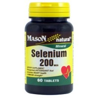 Mason Natural Selenium 200 Mcg Tablets - 60 Ea
