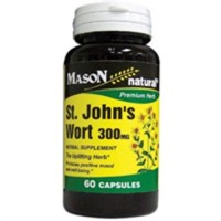 Mason Natural St. Johns Wort 300 Mg Premium Herbal Capsules - 60 Ea