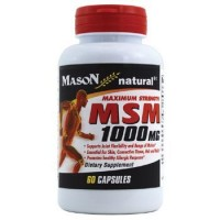 Mason Natural Msm 1000 Mg Maximum Strength Capsules - 60 Ea