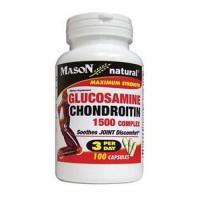 Mason Natural Glucosamine Chondroitin 1500 Complex Capsules - 100 Ea