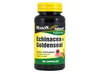 Mason Natural Echinacea And Goldenseal Premium Herbal Supplement Capsules - 60 Ea