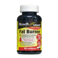 Mason Natural Fat Burner With Chromium Picolinate - 60 Capsules