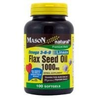 Mason Natural Omega 3-6-9 Flax Seed Oil 1000 Mg Softgels - 100 Ea