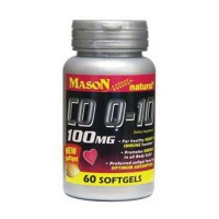 Mason Natural CO Q-10 100 Mg Softgels - 60 Ea