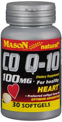 Mason natural CO Q-10 100 mg softgels - 30 ea