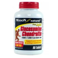 Mason Natural Flexi Joint Glucosamine Chondroitin and MSM 1000 - 90  Ea
