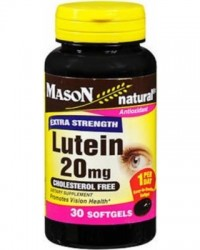 Mason Natural Lutein 20Mg Antioxidant, Extra Strength - 30 Capsules