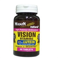 Mason Natural Vision Vitamins With Lutein Antioxidant Tablets - 60 Ea