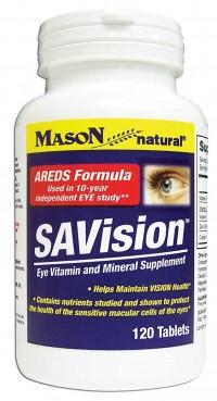 Mason Natural Savision, Areds Formula - 120 Tablets
